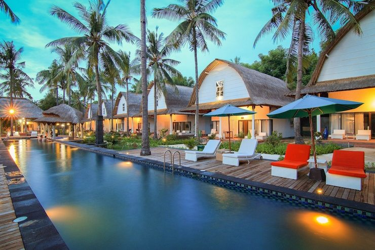 Jambuluwuk Oceano Gili Trawangan Resort Lombok - Featured Image