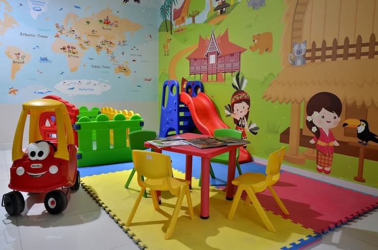 Jambuluwuk Oceano Gili Trawangan Resort Lombok - Childrens Play Area - Indoor