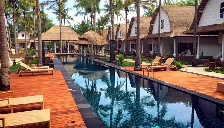 Oceano Jambuluwuk Resort Lombok - POOL VIEW