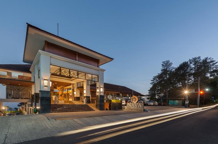 Nava Hotel Tawangmangu - Facade Hotel