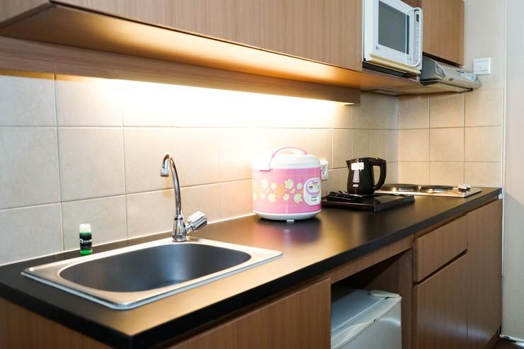 Ancol Marina Apartment By Travelio Jakarta - Dapur