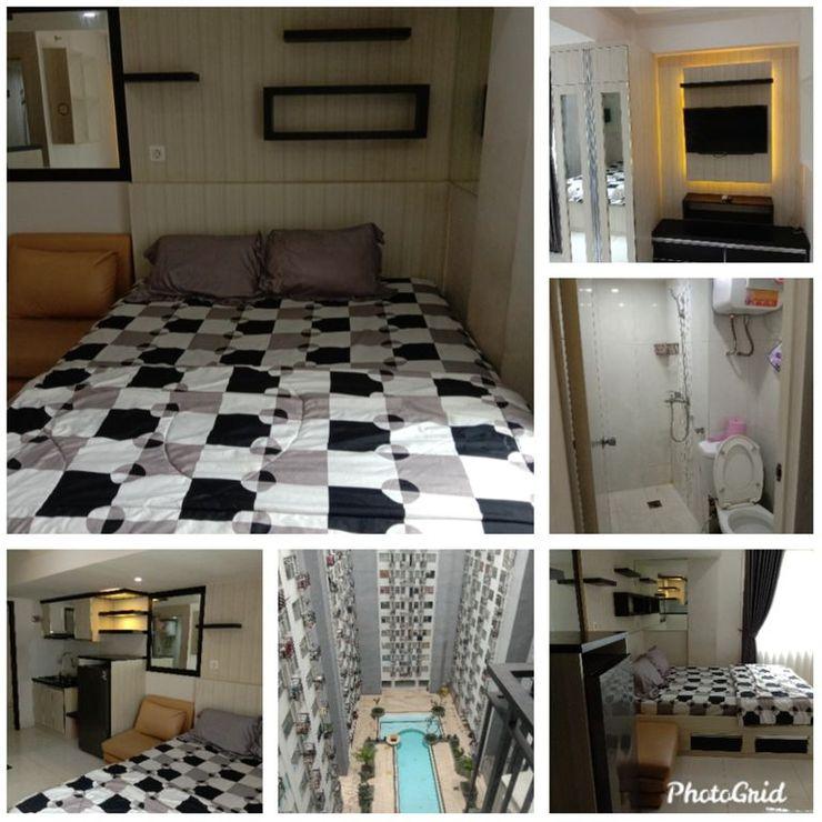 Transit Room at The Jarrdin Apartement Cihampelas Bandung - Bedroom
