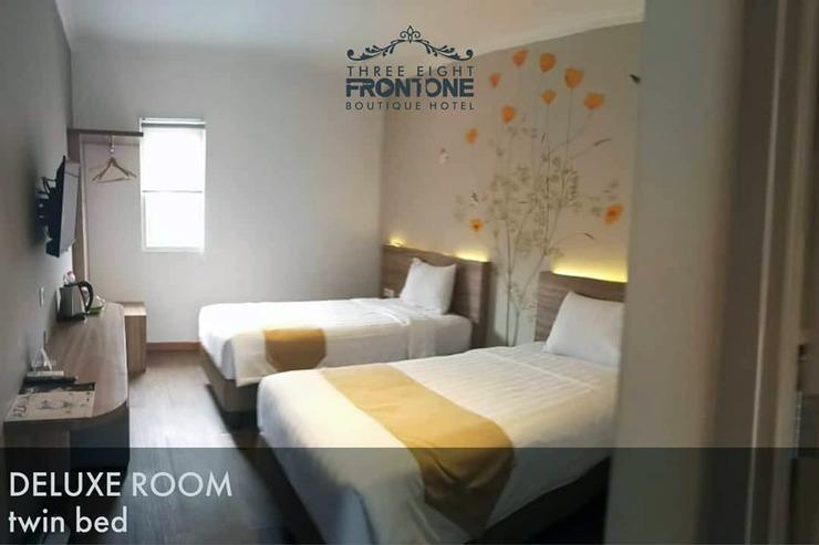 Three Eight Front One Boutique Batu Malang Malang - Deluxe Room - Twin Bed