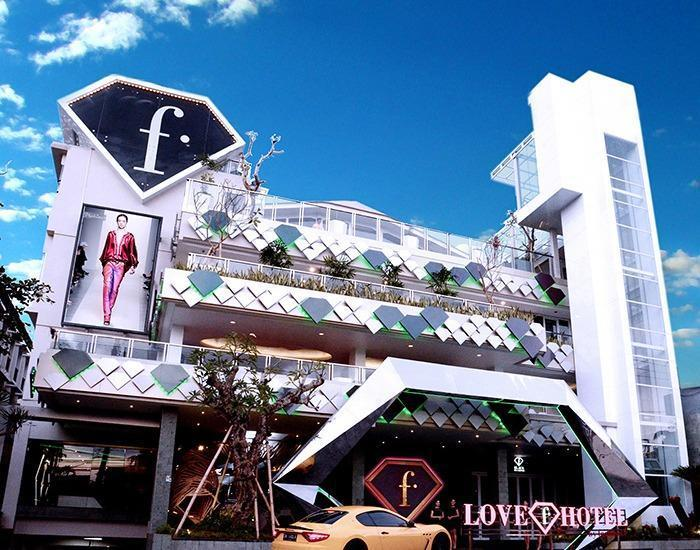 Fashion Hotel Legian - Tampilan Luar Hotel