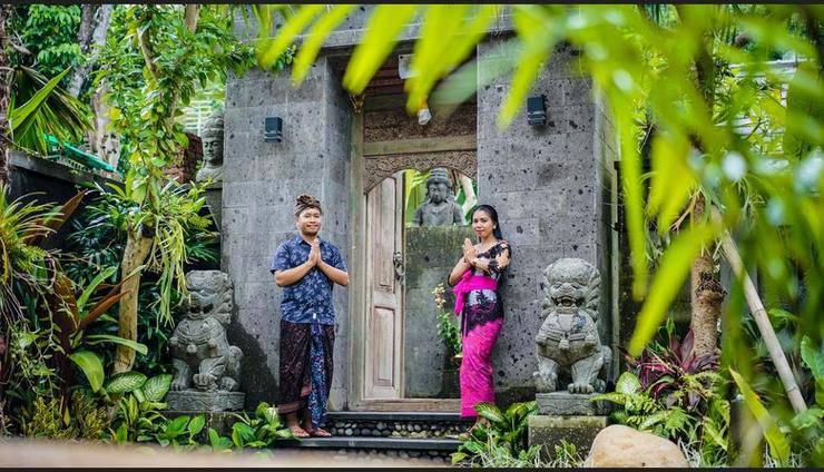 Buana Tirta Ubud Villa Bali - Hotel Entrance