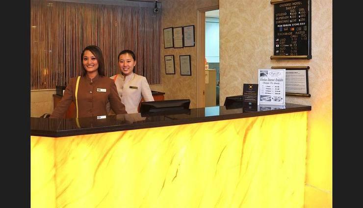 Oxford Hotel Singapore - Reception