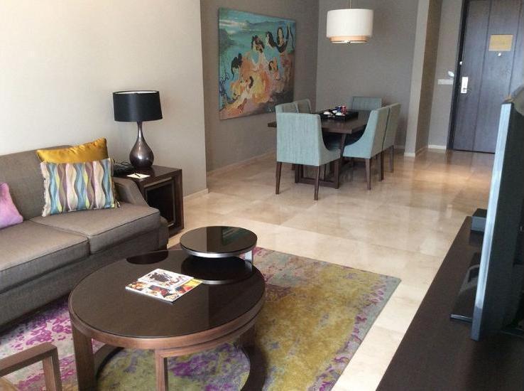 Ascott Kuningan Jakarta - Living Room