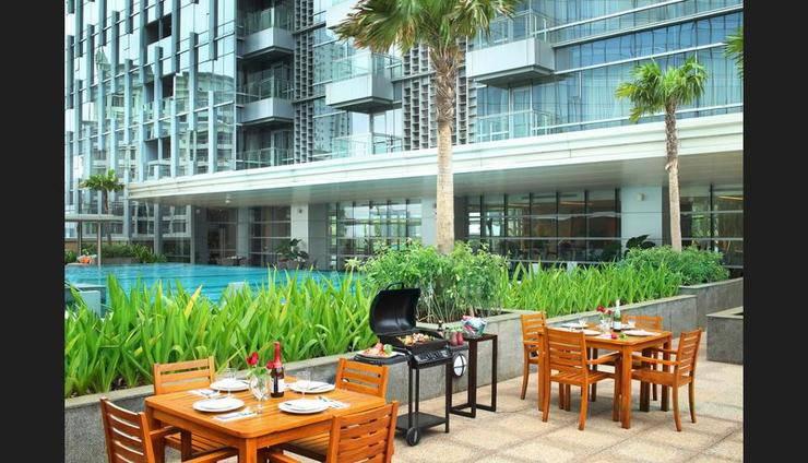 Ascott Kuningan Jakarta - Outdoor Dining