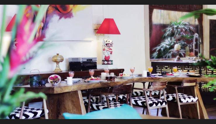 Villa Karisa Boutique Hotel Bali - Hotel Lounge