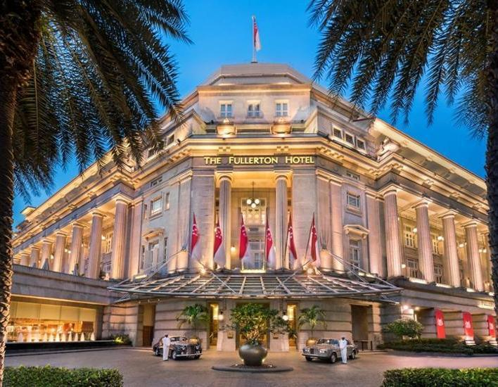 The Fullerton Hotel Singapore - Featured Image