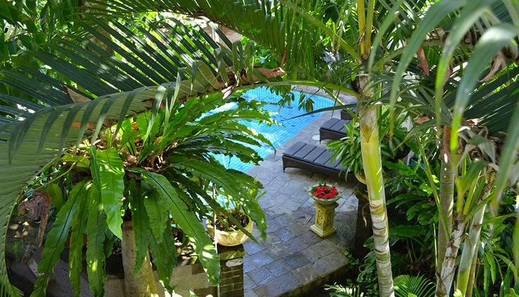 Flamboyan Hotel Bali - Pemandangan Kolam
