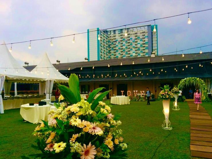Sentral Cawang Hotel Jakarta - garden