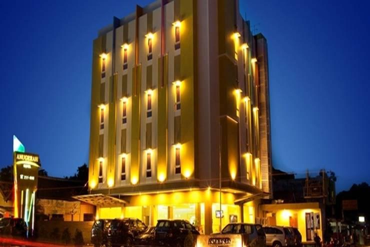 Hotel Anugerah Express Lampung - Tampilan Luar Hotel