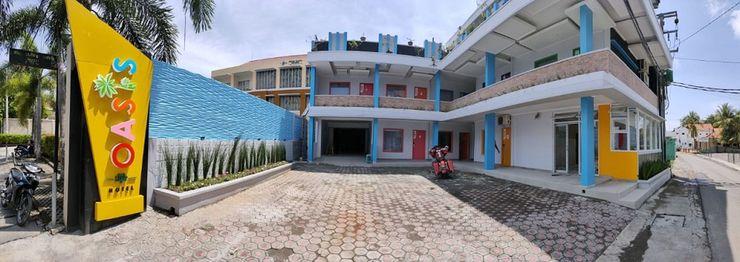 Oasis Style Hotel Pangandaran Pangandaran - Facade