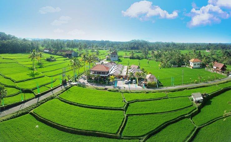 Amatara Abirama Villas Bali - Aerial View