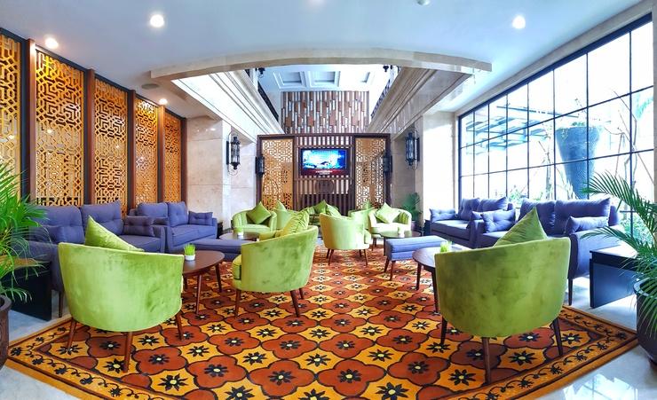 eL Hotel Royale Yogyakarta Malioboro Yogyakarta - lounge