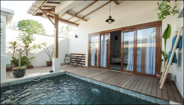 Ke Rensia Private Pool Villas Gili Air Lombok - exterior