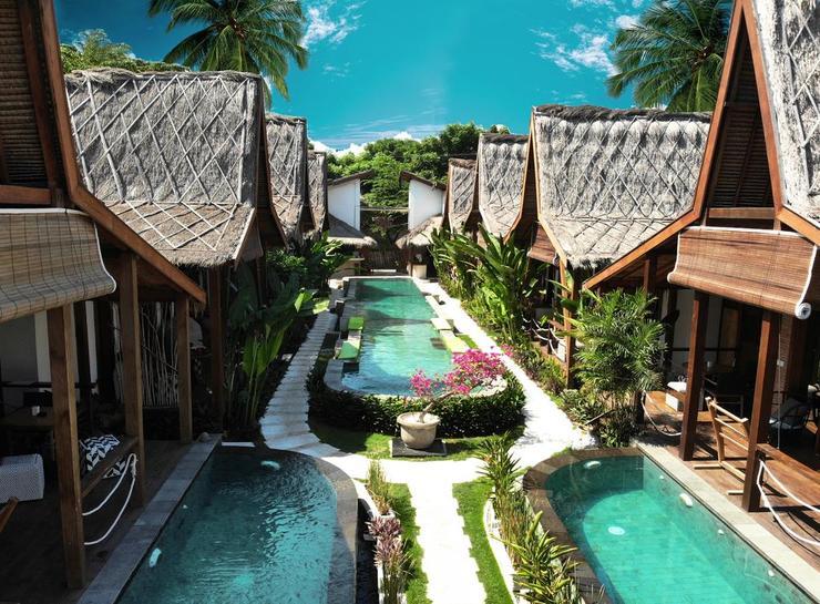 Kaleydo Villas Lombok - View