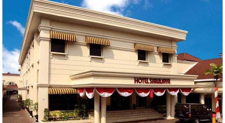Sriwijaya Hotel Jakarta - Tampilan Luar