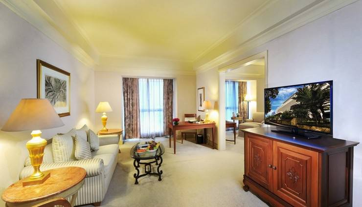Hotel Borobudur Jakarta - Club Suite - Ruang Tamu