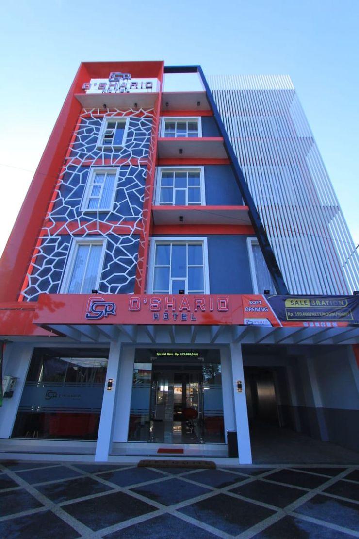 Dshario Hotel Kepanjen Malang - Facade