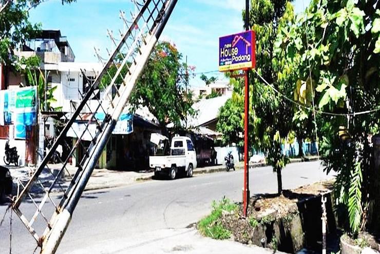 New House  Padang - Tampilan Luar Hotel
