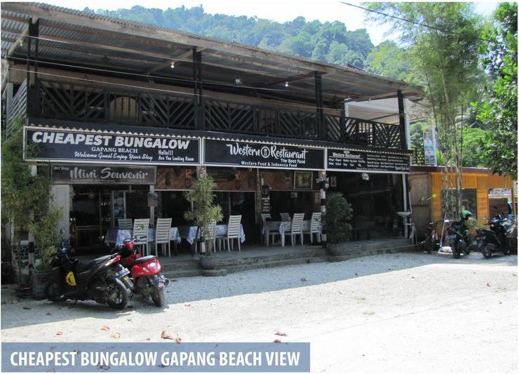 Cheapest Bungalow Gapang Sabang - Facade