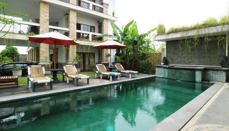Agung Homestay Canggu Bali - Swimming Pool