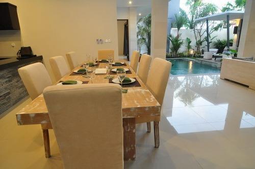 Apple Villa Bali - dining room