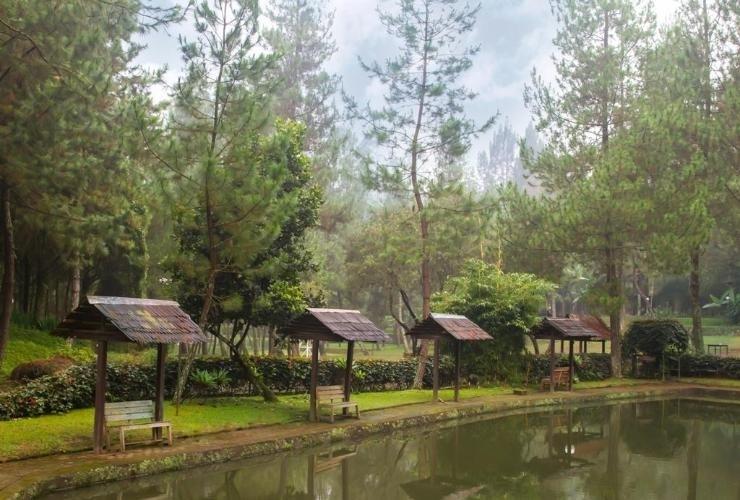Puteri Gunung Hotel Lembang - View