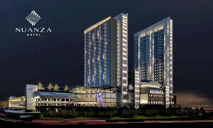 Nuanza Hotel & Convention Cikarang Bekasi - Facade