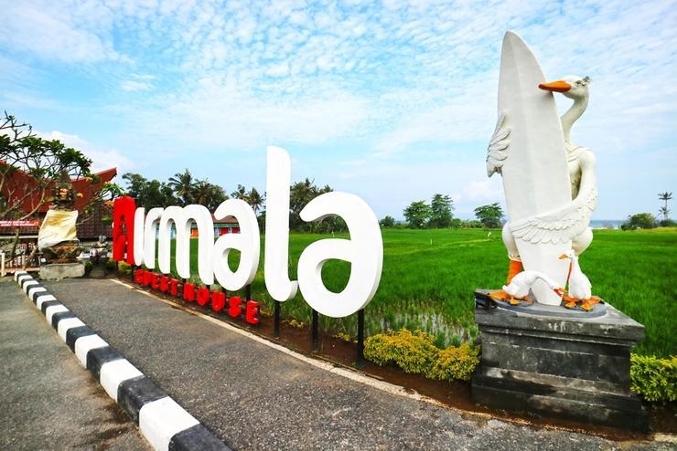 Nirmala Guest House Keramas Bali - View