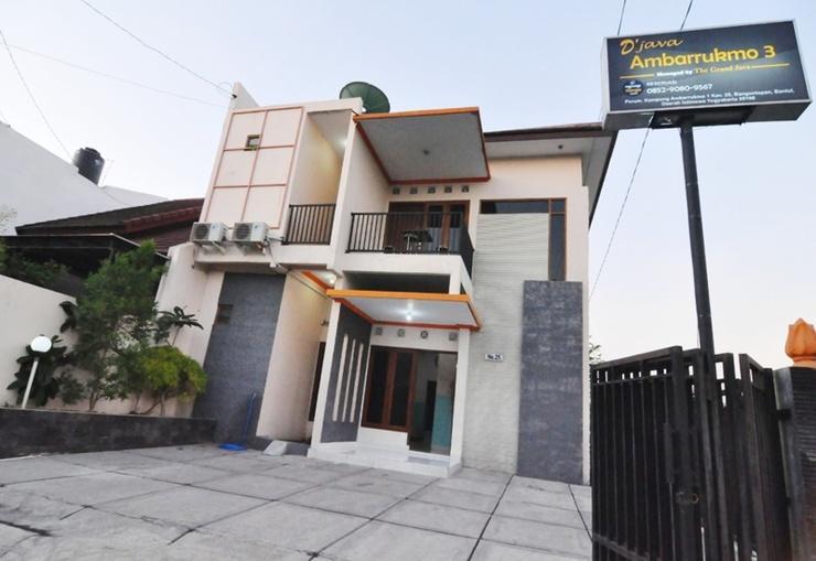 D'Java Homestay Unit Ambarrukmo 3 Yogyakarta - Exterior