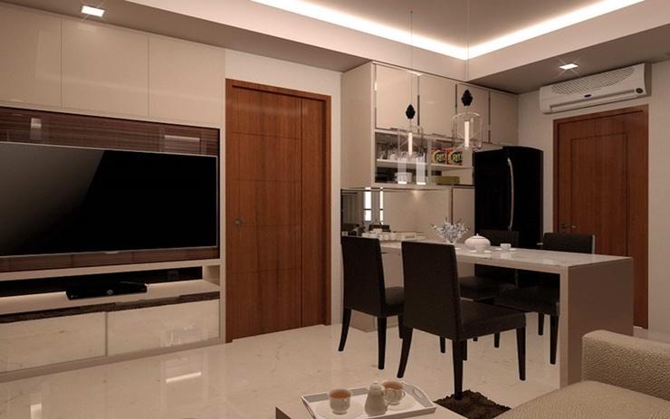 Surabaya Luxury Educity Apartment 2BR+1BR Surabaya - Interior