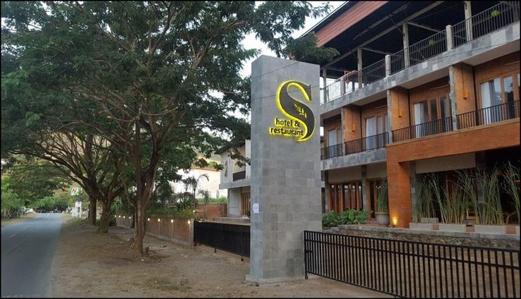 S Hotel & Restaurant Lombok - exterior