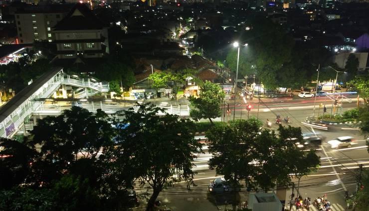 Rivoli Hotel Jakarta - pemandangan kota di rivoli hotel jakarta