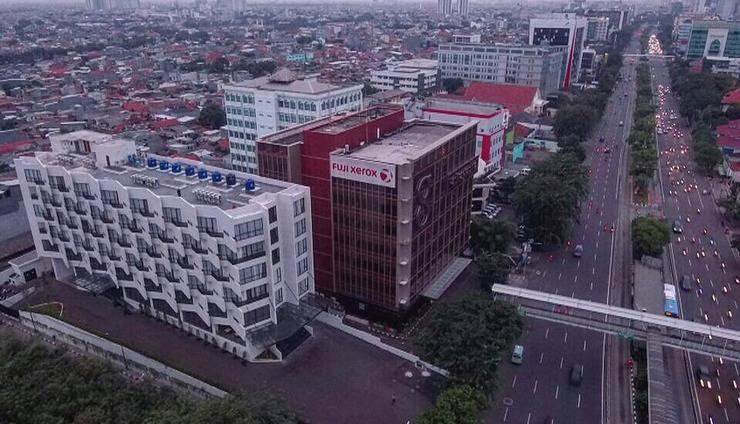 Hotel Rivoli Senen Jakarta Jakarta - Sekitaran lokasi yang sangat strategis