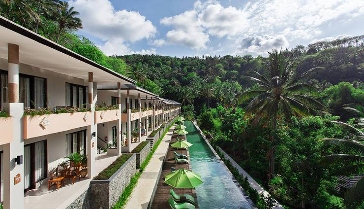 Kebun Villas & Resort Lombok - PEMANDANGAN