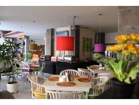 Hotel Karthi Bali - Area untuk Sarapan Pagi Buffet