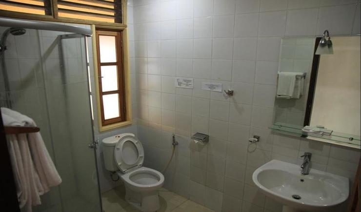 Hotel Pandu Lakeside Tuktuk Samosir - Bathroom
