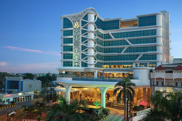 Galaxy Hotel Banjarmasin Banjarmasin - Eksterior