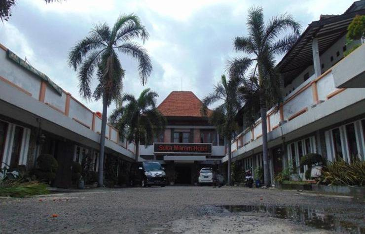 Hotel Suka Marem Solo - Parkir
