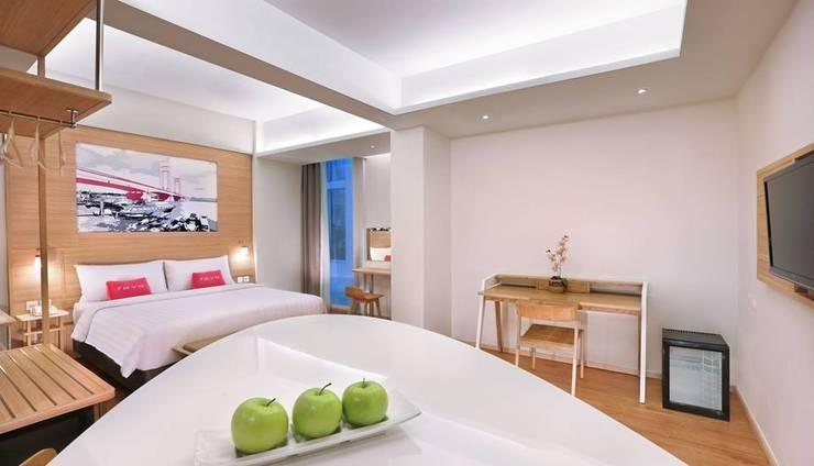 fave hotel Palembang - Kamar tamu