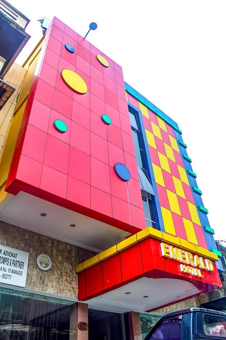 Emerald Hotel Manado - Bangunan Hotel