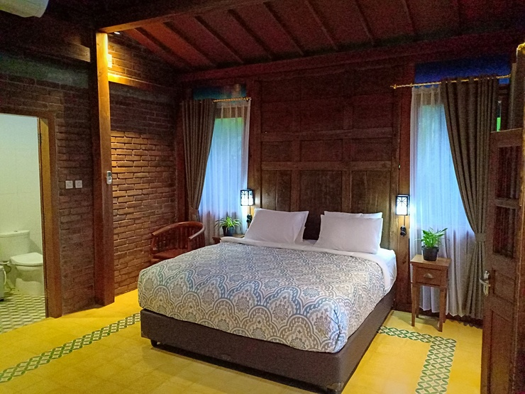 The Amrta Borobudur by Haz Room Magelang - Arjuna - Yudhista Villa (Bed Room) The Amrta Borobudur by Haz Room
