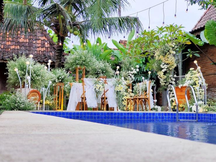 The Amrta Borobudur Magelang - Wedding Pool The Amrta Borobudur