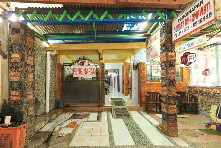 Dharmawati Homestay Surabaya - Entrance