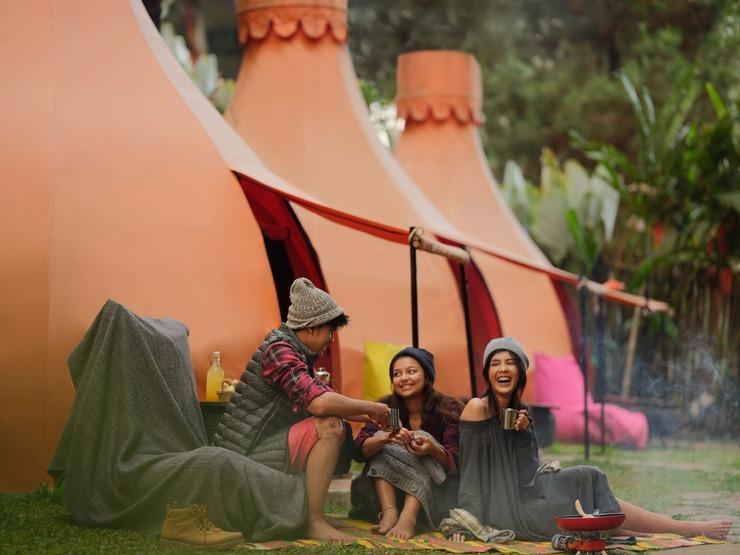 The Lodge Maribaya Bandung - Tenda