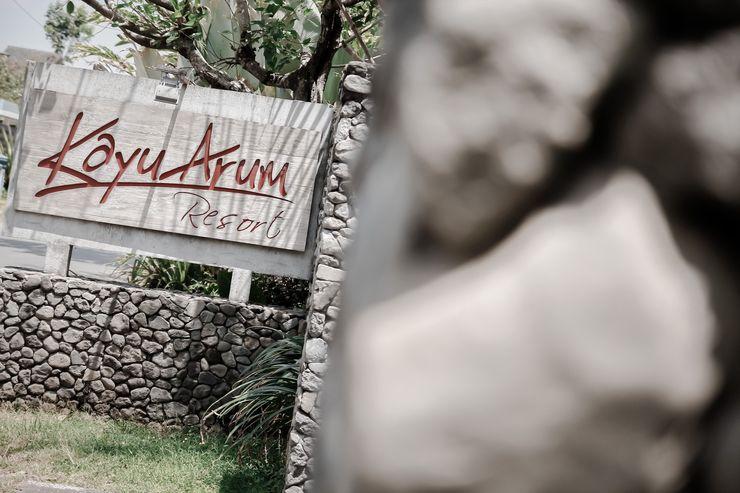 Kayu Arum Resort Salatiga - Gerbang Utama