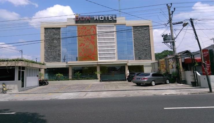 Dom Hotel Jogja Yogyakarta - Facade